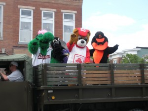 Some of Baltimore's favorite mascots can be found at the annual South Baltimore Little League Parade.
