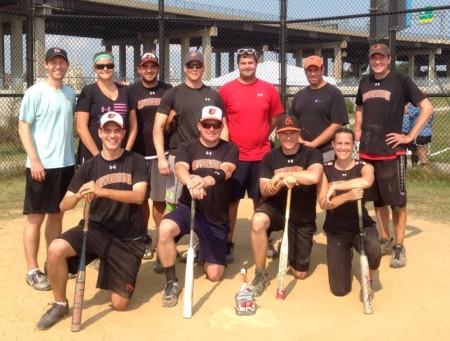 Riverside Softball Champions 2014