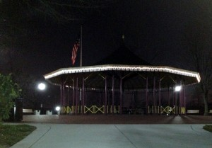 The pavilion has become the park's icon.