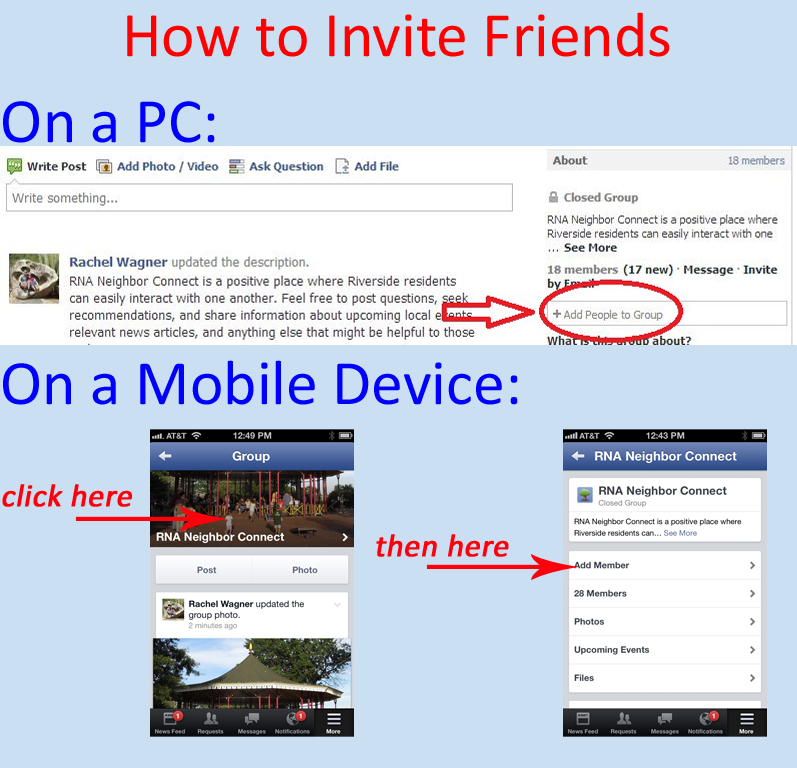 how to invite