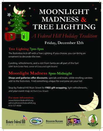 2014 Moonlight Madness Poster
