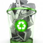 Electronics-recycling-bin